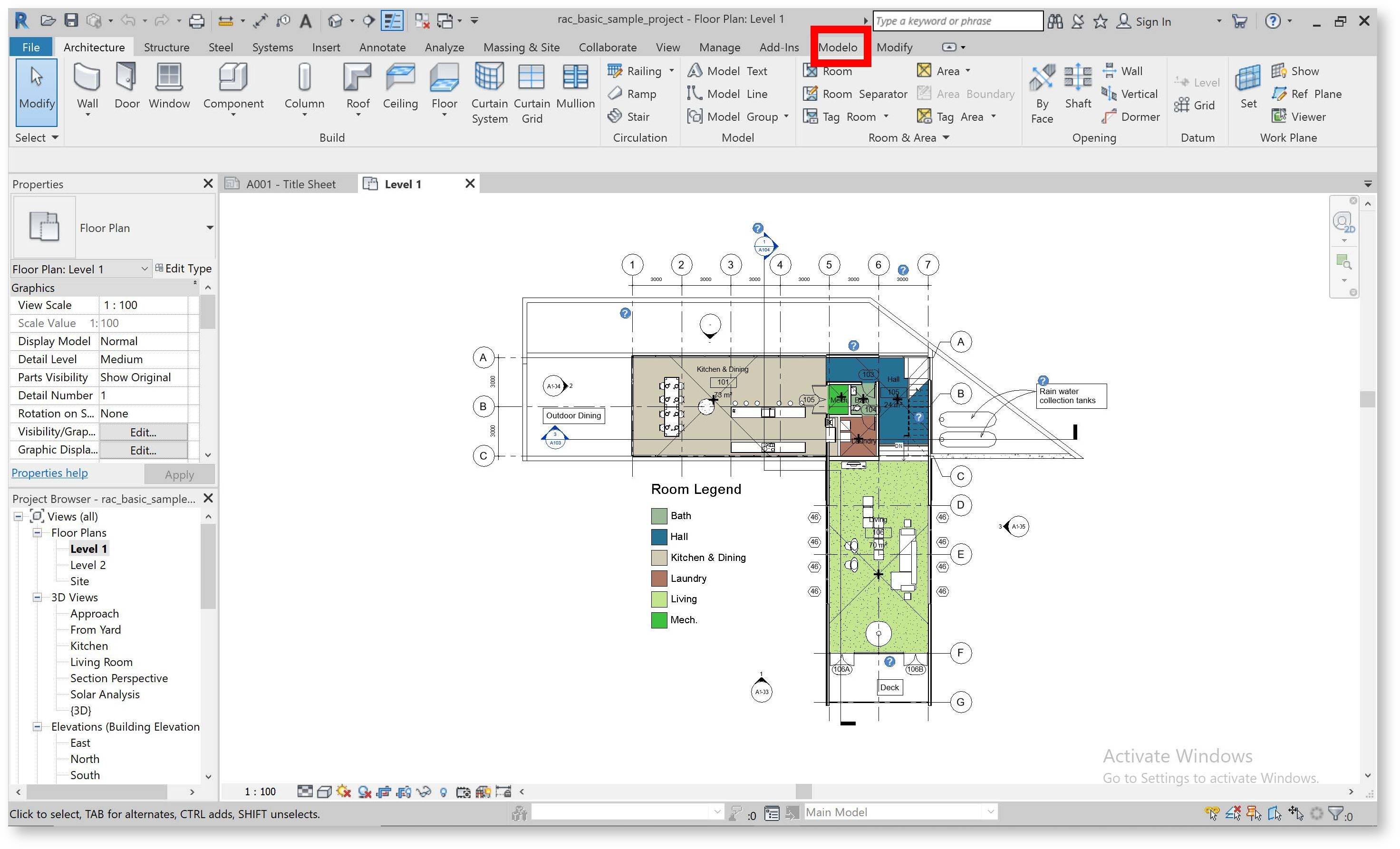 (Figure 3.1 - In Revit interface, where you can find the downloaded Revit expolorer export tab)