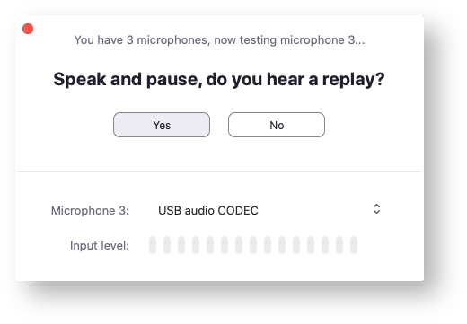 microphone test