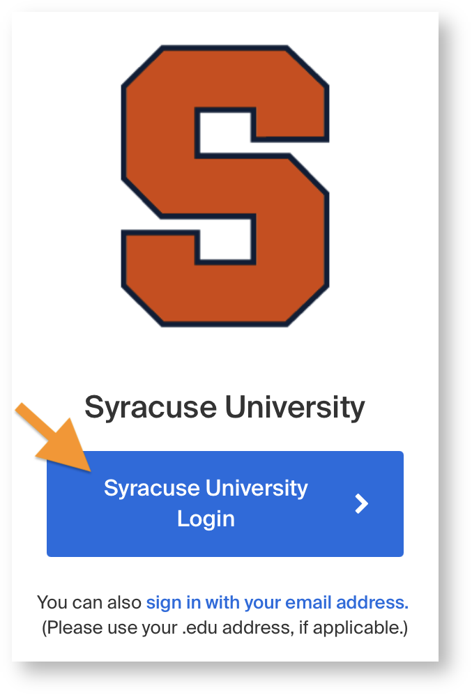 SU login box for Handshake