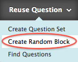 create random block button