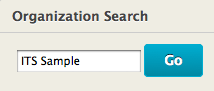 image of organization search box