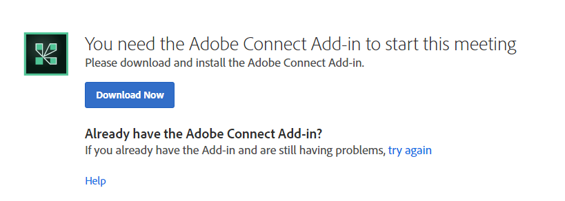 acrobat connect add in free download