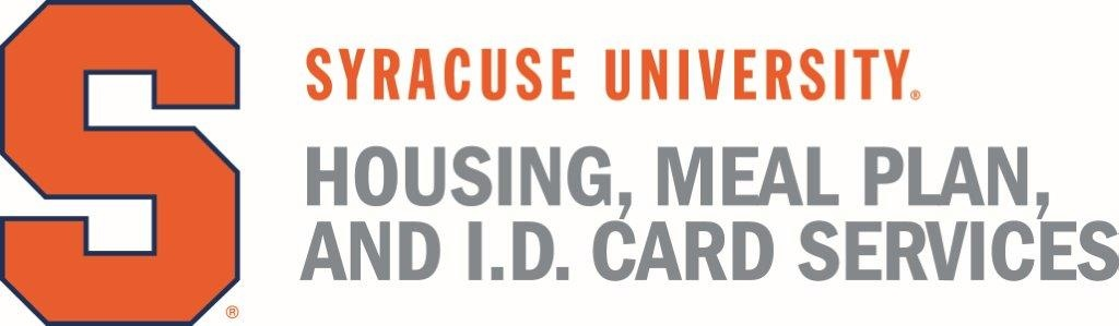 Syracuse University housing meal plan and ID card services logo