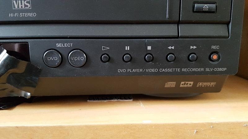 Figure 1.3_DVD VCR_Select Mode