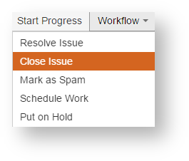 Workflow button with two added options in Standard Workflow 2.0 scheme