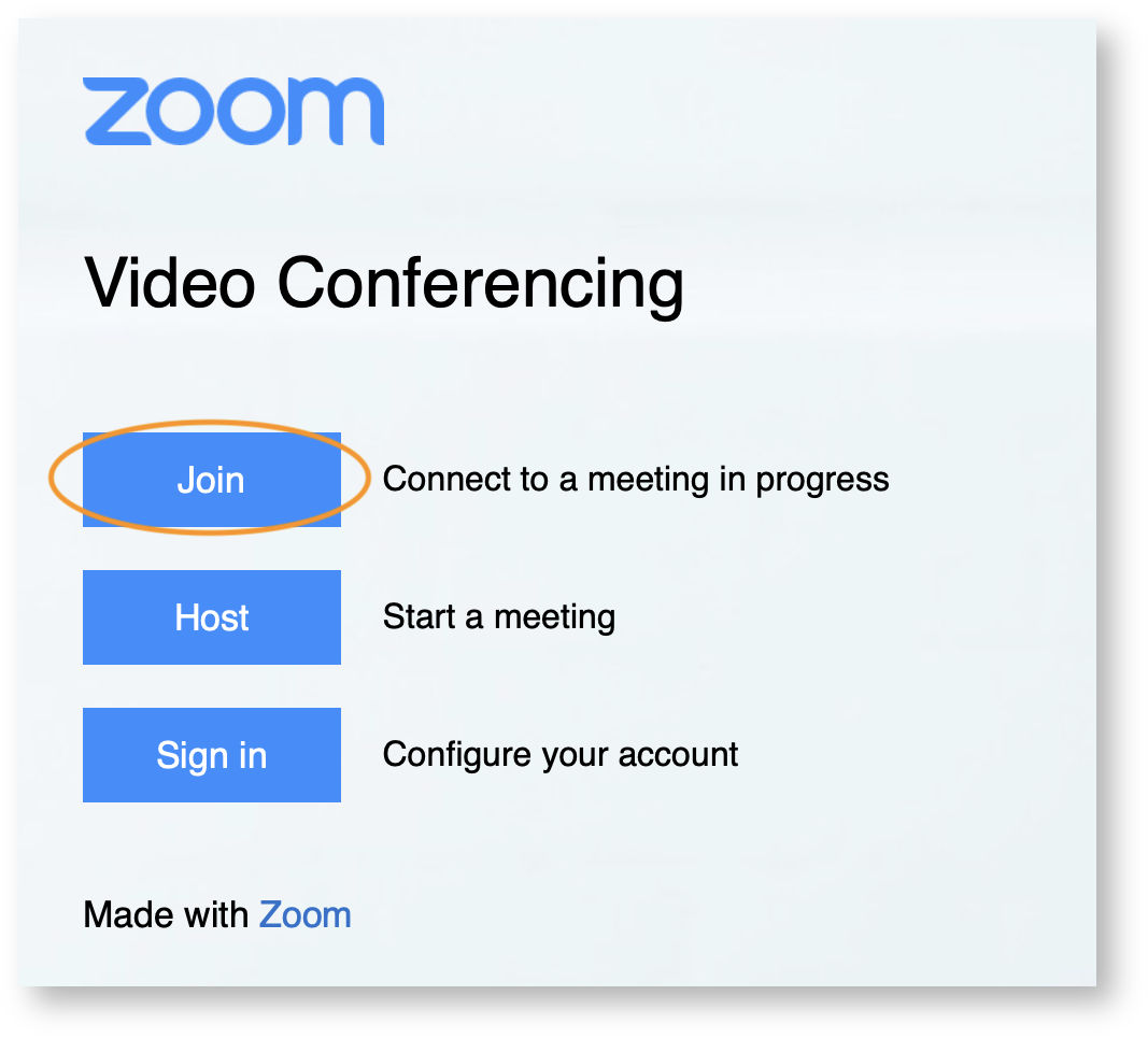 zoom video conferencing join window screenshot