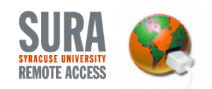 SURA Syracuse University Remote Access Logo
