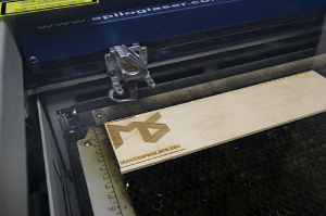Laser Engraver In Action