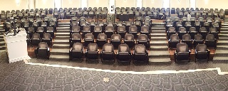 Panorama of Maxwell Auditorium
