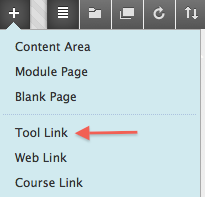 Select tool link.