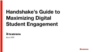 University Guide to Promoting Digital Student Engagement in Handshake_March 11 2020.pdf