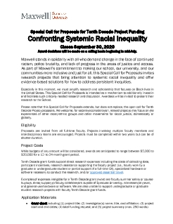 Tenth Decade Project CFP_Confronting Systemic Racial Inequality_FINAL.pdf